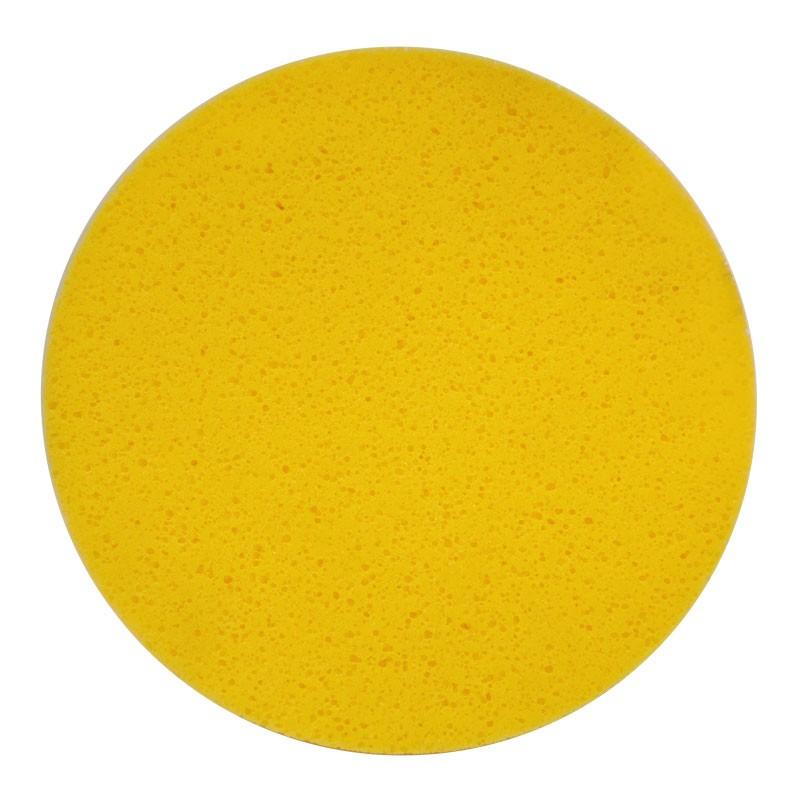 """16"""" Velcro Sponge Disc, Yellow, Medium"""