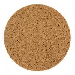 "16"" Velcro Sponge Disc, Tan, Hard"