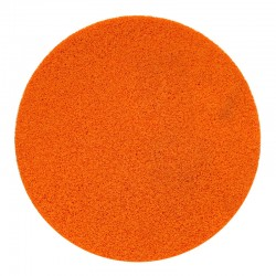 "16"" Velcro Sponge Disc, Orange, Fine"