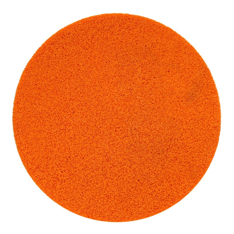 "16"" Velcro Sponge Disc, Orange, Fine"