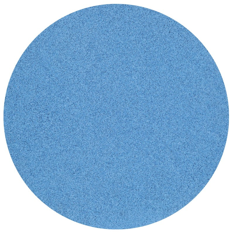 "16"" Velcro Sponge Disc, Blue, Medium"