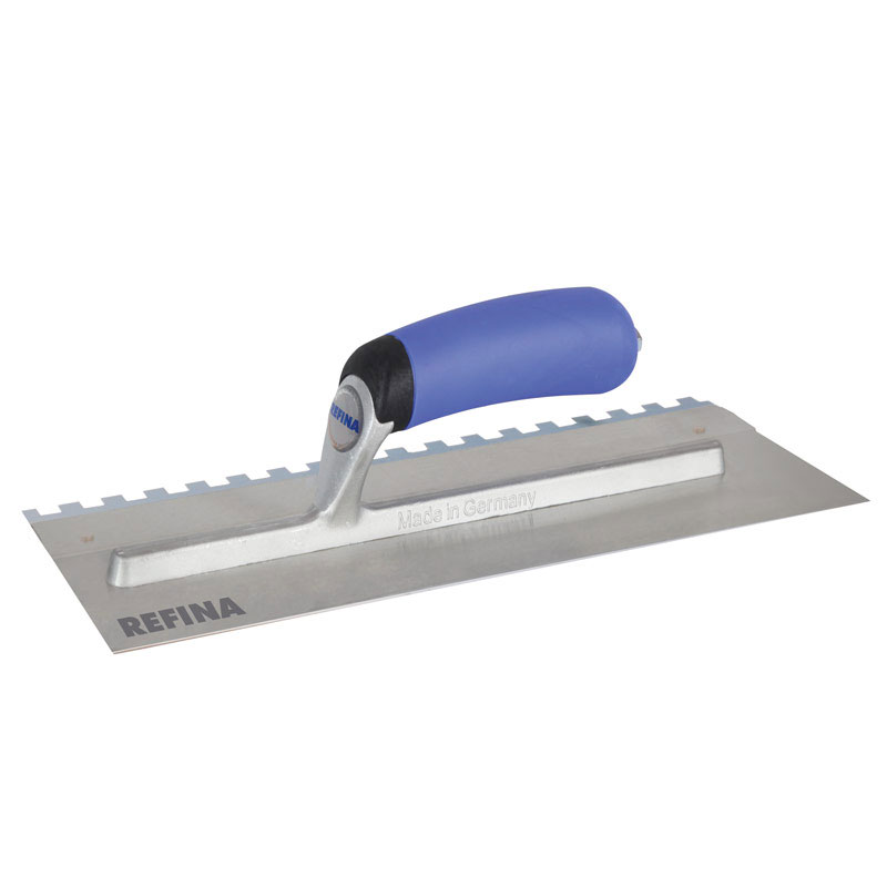"""11"""" R- Hand Slotted Trowel (notched)"""