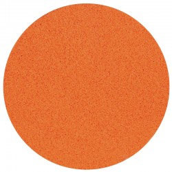 "16"" Velcro Sponge Disc, Orange, Medium, 20mm"