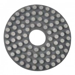 "4"" Wet Diamond Disc Metal Bond, Velcro Backed"