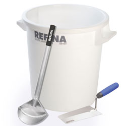 "50 ltr Mixing Tub + Bucket Scoop + 8"" Bucket Trowel"