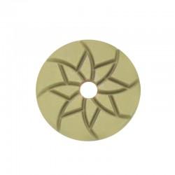 "4"" Diamond Puck Disc, Velcro, For Terrazzo & Stone Polishing"