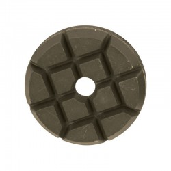 "3"" Hybrid Puck Disc, Velcro, For Concrete & Terrazzo Polishing"