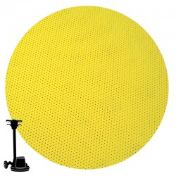 "PGP43 15"" Multi-hole Disc, Velcro, For Sanding Wood"