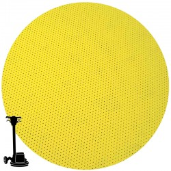 "PGP43 17"" Multi-hole Disc, Velcro, For Sanding Wooden Floors"