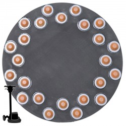 "16"" Diamond Button Disc, For Terrazzo & Stone Polishing"