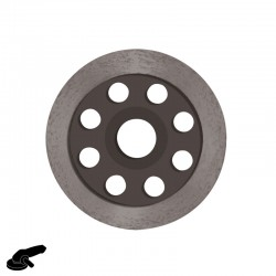 "4"" DX4-MC Diamond Disc, For Concrete, Terrazzo & Stone Smoothing - Makita"