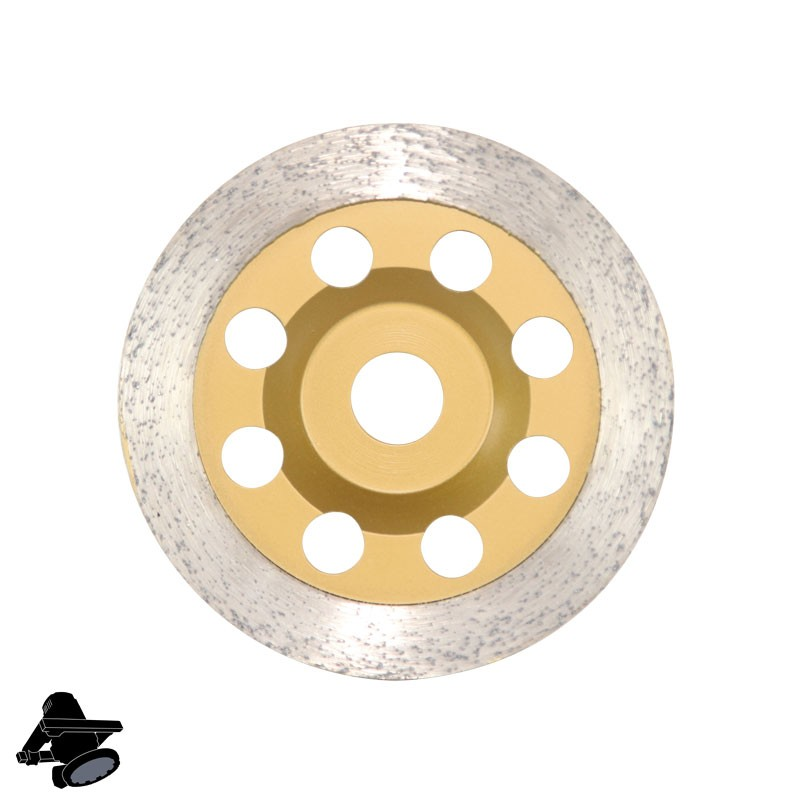 """EBS1802 5"""" DX5-MC Diamond Cup Disc, For Concrete & Stone Smoothing"""