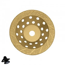 "EBS1802 5"" DX5-BC Diamond Disc, For Abrading Hard Coatings & Epoxies"