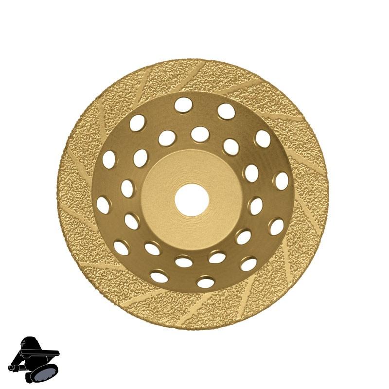 "EBS1802 5"" DX5-BC Diamond Disc, For Abrading Hard Coatings & Epoxies"