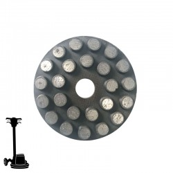 "PGP43 3"" Diamond Disc, Velcro, For Concrete & Terrazzo Grinding"