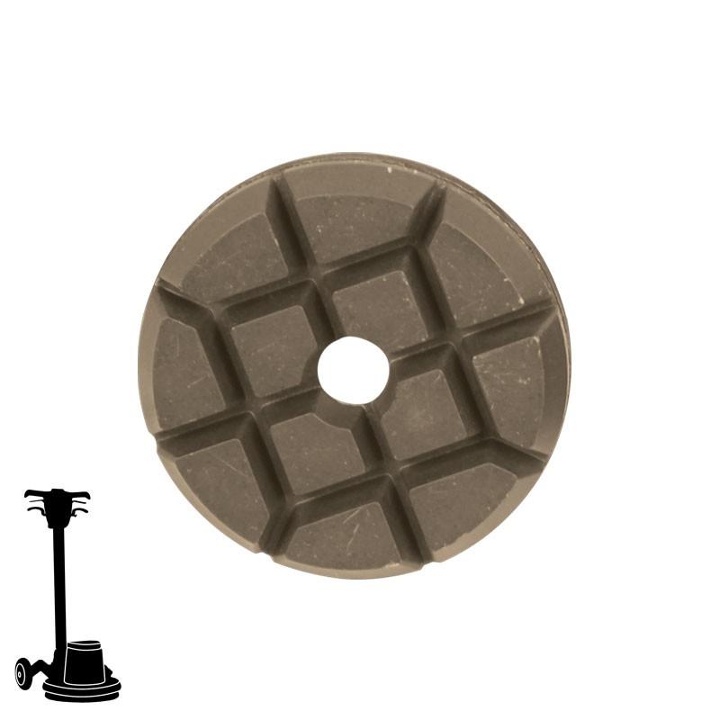 "PGP43 3"" Hybrid Puck Disc, Velcro, For Concrete & Terrazzo Polishing"