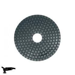"EPN1800 4"" Diamond Disc, Velcro, For Concrete & Stone Polishing"