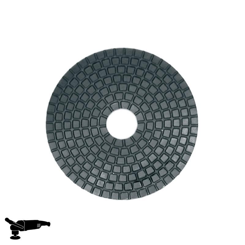 """EPN1800 4"""" Diamond Disc, Velcro, For Concrete & Stone Polishing"""