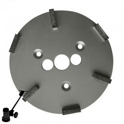 "PD23 9"" Diamond Plate, Coarse, For Concrete & Coating Removal"