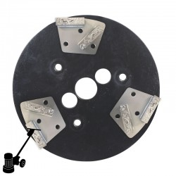 PD23 DG-TX PCD Chip Mini Plate Kit, For Coating & Adhesive Removal