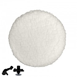 "7"" Buffer Polishing Pad, For Micro Cement"
