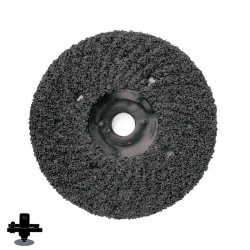 "EPO180H ZEC 7"" Hard Back Coarse Disc, For Coating Removal"