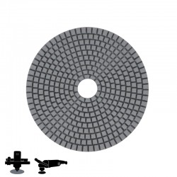 "EPO180H 5"" Diamond Wet/Dry Disc, Velcro, For Concrete & Terrazzo Polishing"