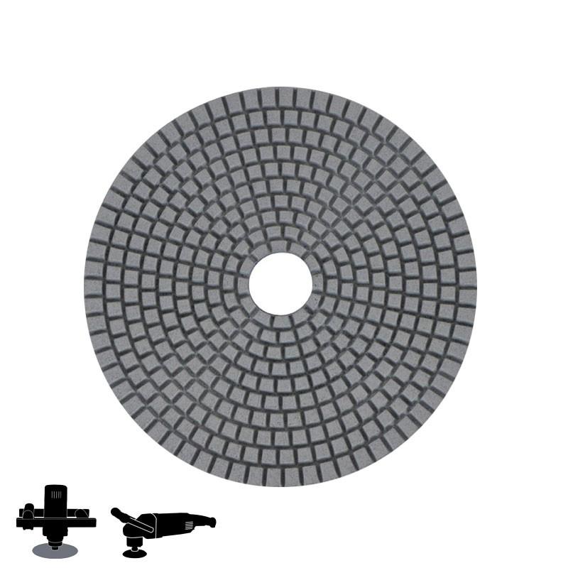 "EPO180H 5"" Diamond Wet/Dry Disc, Velcro, For Concrete & Terrazzo Polishing"