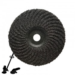 "EBS180F 7"" Hard Back Surfacer Disc, For Coating Removal"