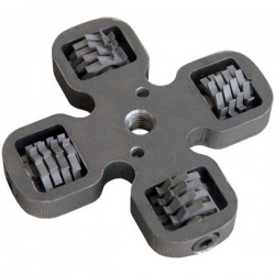 16 cutters fit in the scabbler crosshead