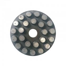 "3"" Wet Diamond Disc Metal Bond, Velcro Backed"
