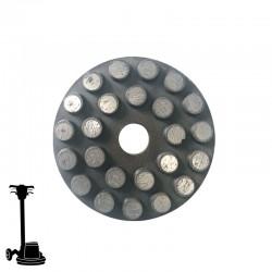 "PGP43 3"" Diamond Disc, Velcro, For Concrete & Terrazzo Grinding"