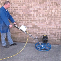 CPT60 Compact Power Trowel in use