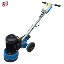 "PD23 9"" Diamond Floor Grinder 1.5kw + Disc Kit"