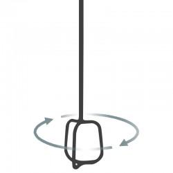 """MR1 Hoop Paddles 3½"""" - 4¾"""" Hex Shaft"""