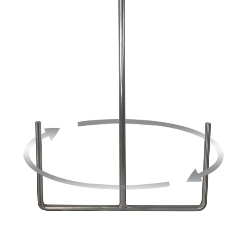 """Stainless Anchor Paddle 10½"""" - 15"""""""