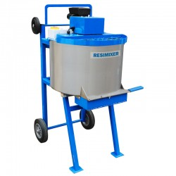 RMX120 Heavy Duty Resin & Aggregate S/S Mixer