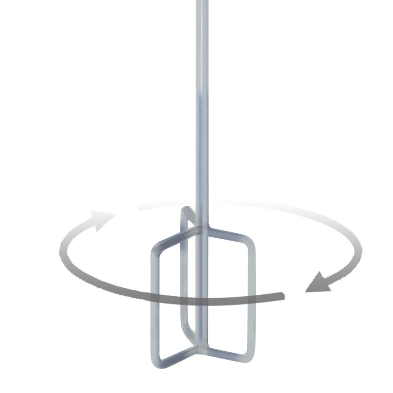 "MR1 Hoop Stainless Paddle 4"" - 8"""