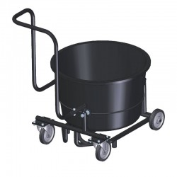 Tipping Trolley For TwinMix 1800 Mixer