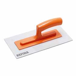 "11"" Plastic Trowel, White Nylon 3mm Blade"