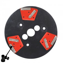 PD23 DGP-H6 Bolt On Plate Kit, For Concrete & Coating Removal