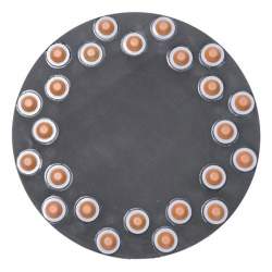 "16"" Diamond Polishing Pad Velcro Back"