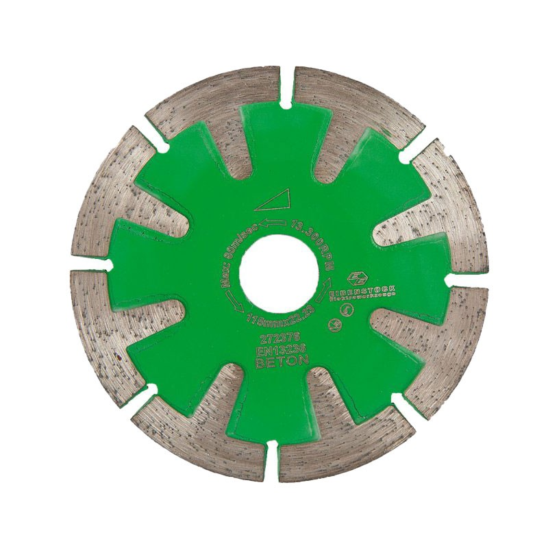 "Curved Cut Diamond Cutting Disc 4.5"", For Concrete & General Purpose"