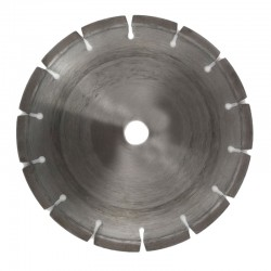 "Segmented Diamond Cutting Disc 8"", For Hard Concrete & Stone"