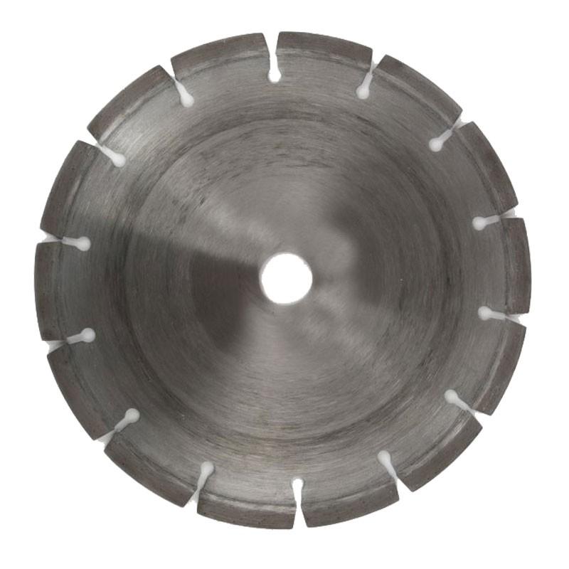 "Segmented Diamond Cutting Disc 8"", For Hard Concrete & Stone"