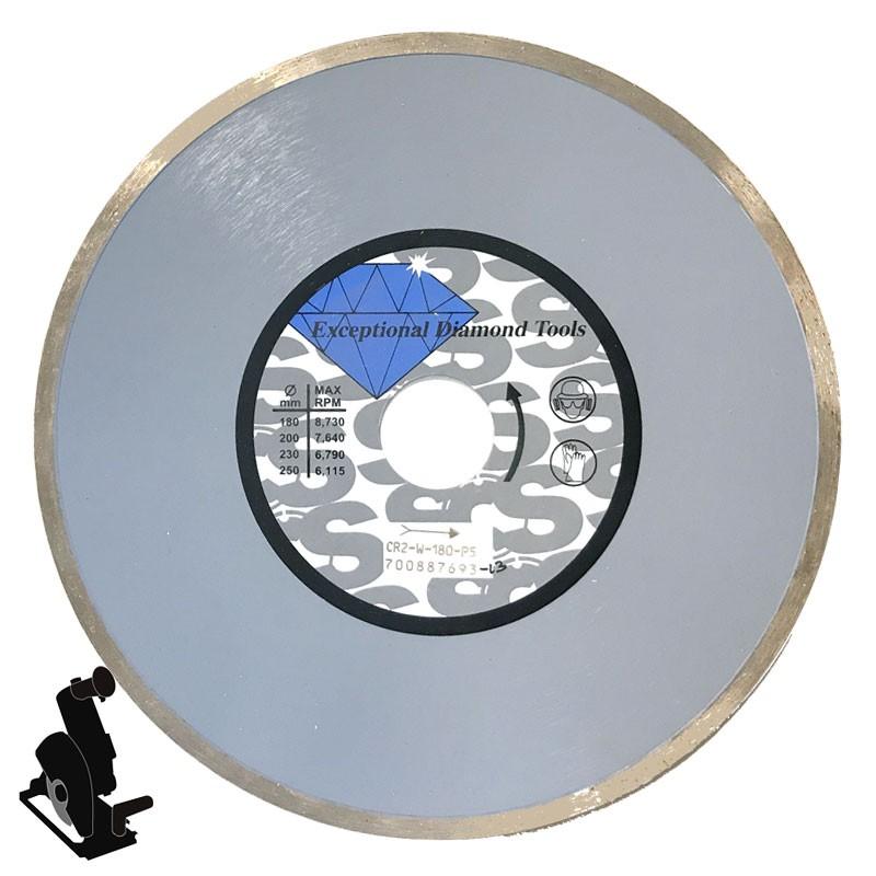 """Continuous Rim Diamond Cutting Disc 7"""""""