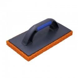 """Sponge Float, 20mm orange coarse rubber 11"""""""
