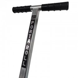PortaRoll™ Heavy Duty Flooring Roller. Handle close up