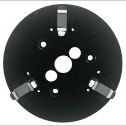 """9"""" Bolt On Backing Disc With Brackets For Bush Hammer & Rotary Cutters"""