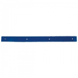 "24"" Blue Squeegee Blade (triangular)"
